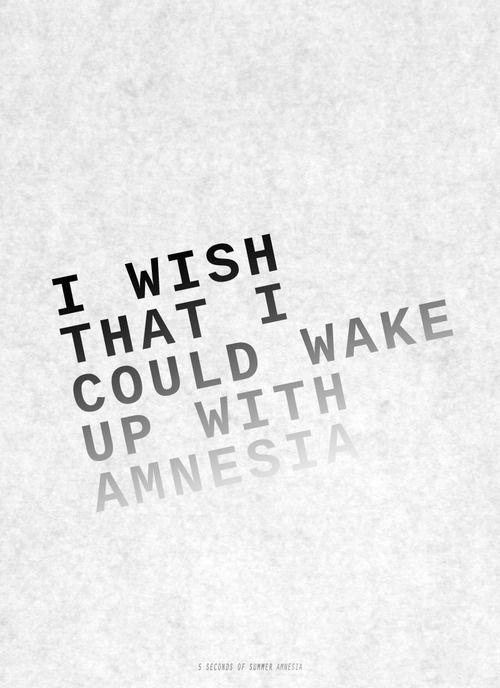 Amnesia - 5 Seconds Of Summer