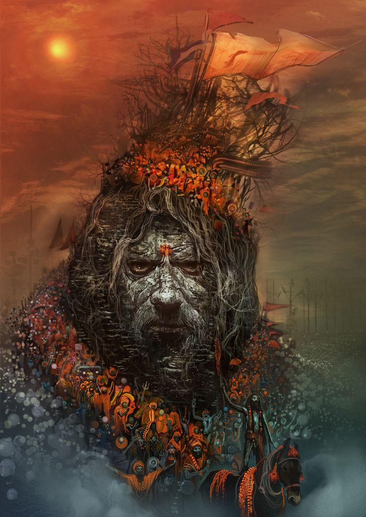 Peter Andrew Jones | Juna Akhara Naga Baba, by Andrew Jones