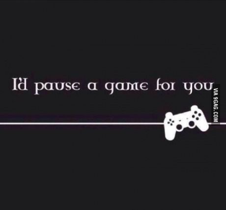 Only gamers will understand, this is true love!