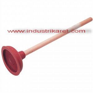 Sink plunger with handle
