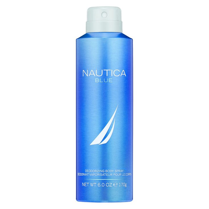 Blue by Nautica Men's Deodorant Body Spray - 6 fl oz