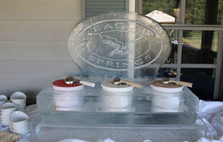 Ice Cream Display Ice Cubes Amp Ice Bowls Pinterest