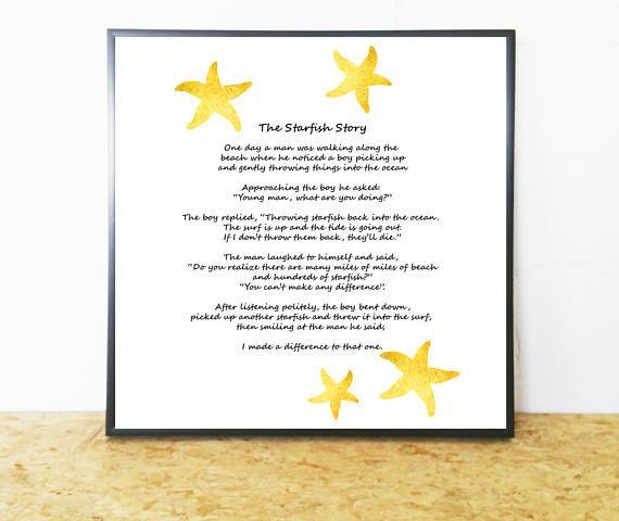The Starfish Story The Starfish Poem  Loren Eiseley