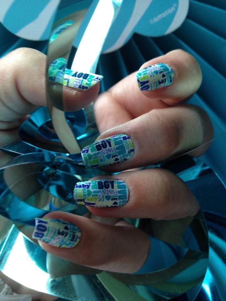Luxury Nail Wraps On Acrylic Nails Gift - Nail Paint Design Ideas ...