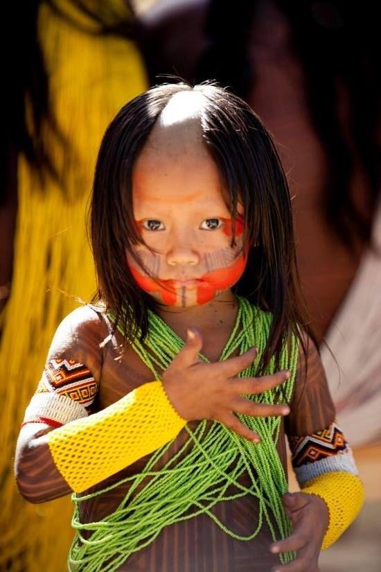 Little Kayapo girl