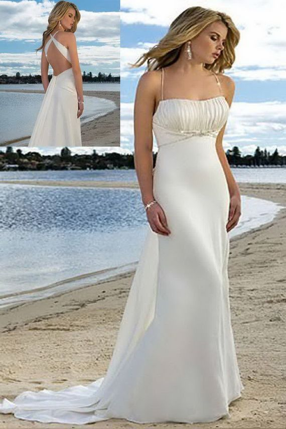 Renewal Wedding Dresses For The Beach : Beach wedding dresses weddings