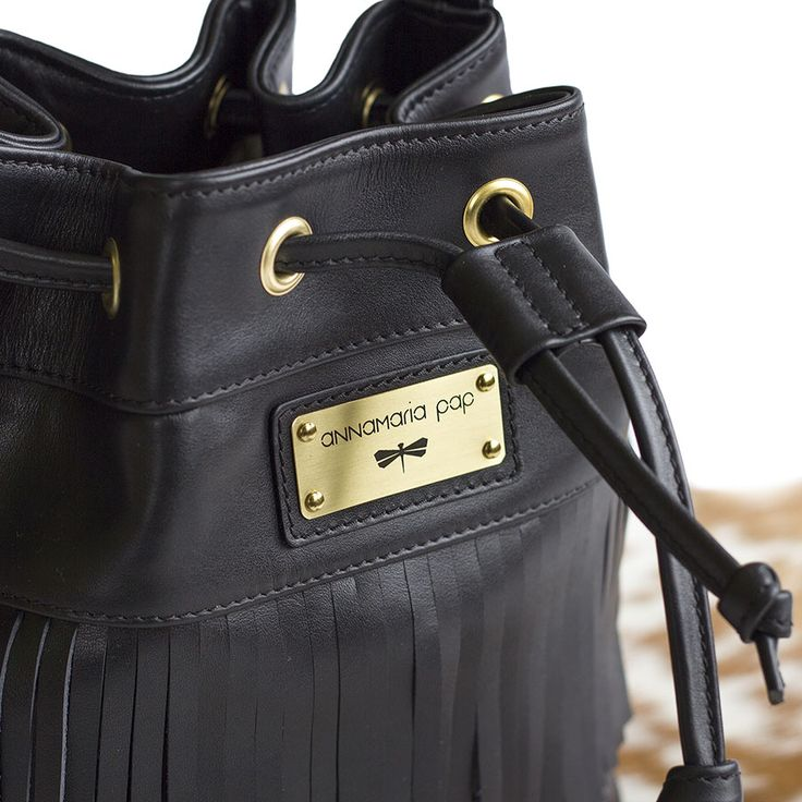 PULLI leather bag, limited edition by Annamaria Pap bag designer