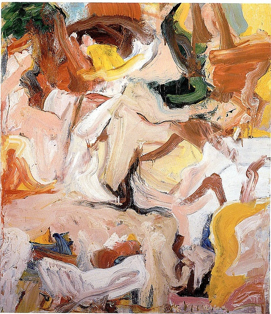 Willem de Kooning - Boudoir Expresionismo abstracto