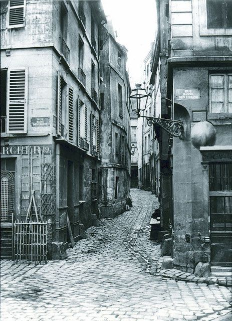 1855 - L'île de la Cité avant Haussmann | PARIS UNPLUGGED