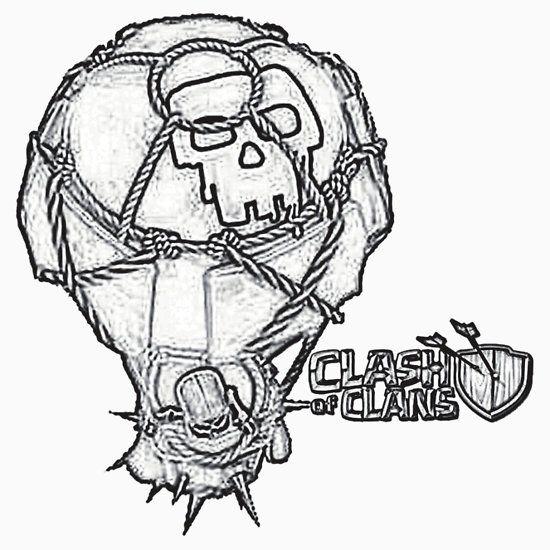 clash of clans clash desenhos