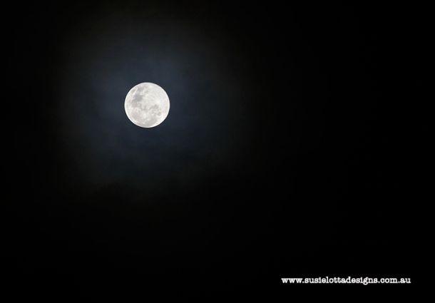 Super Moon & Winter Solstice! June 23rd in Adelaide Australia.