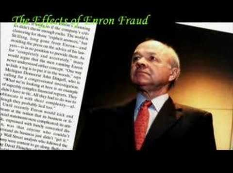 The Effects of Enron Fraud