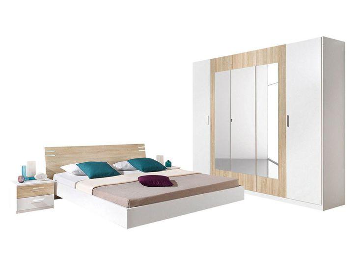 ensemble chambre coucher 4 pi ces 3suisses prix promo chambre 3 suisses ttc 3. Black Bedroom Furniture Sets. Home Design Ideas