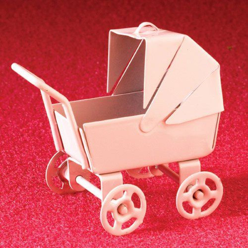 Small Pink Pram From dheminis.com