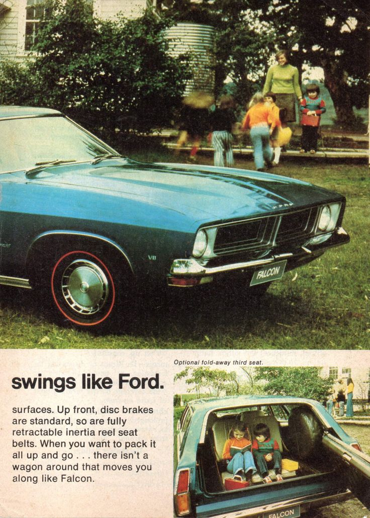 https://flic.kr/p/212pLCL | 1974 XB Ford Fairmont Wagon Page 2 Aussie Original Magazine Advertisement