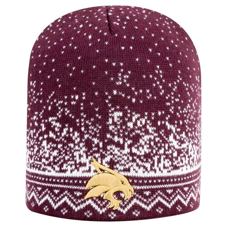 Beanies NCAA Texas State Bobcats Team Color, Women's