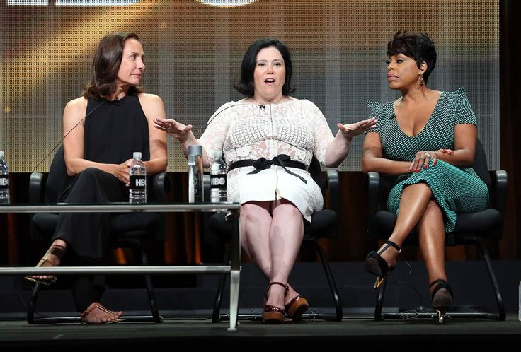 "From left, actresses Laurie Metcalf, Alex Borstein and Niecy Nash speak onstage at the ""Getting On"" panel during the HBO portion of the 2014 Summer Television Critics Association at The Beverly Hilton Hotel on July 10, 2014 in Beverly Hills, California. Check out the many celebs spotted at The Beverly HIlton Hotel! http://celebhotspots.com/hotspot/?hotspotid=5354&next=1"