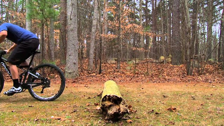 How to Jump a Log on a Mountain Bike