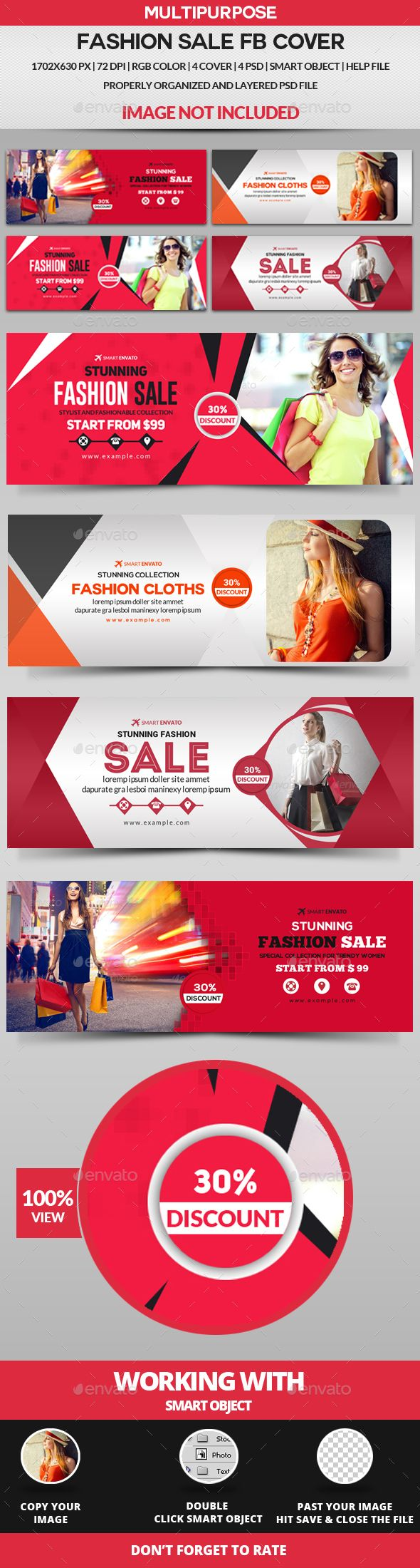 Fashion Sale Facebook Cover - 4 Design Templates PSD. Download here: http://graphicriver.net/item/fashion-sale-facebook-cover-4-design/16920479?ref=ksioks