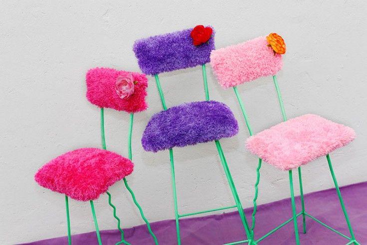 Estupendas, pretenciosas, simpáticas, alegres y coloridas ¡Pucha que la pasan bien!.  #sillas: $58.000 c/u