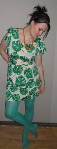 I adore this Vero Moda dress I recevied as an early birthday gift! <3