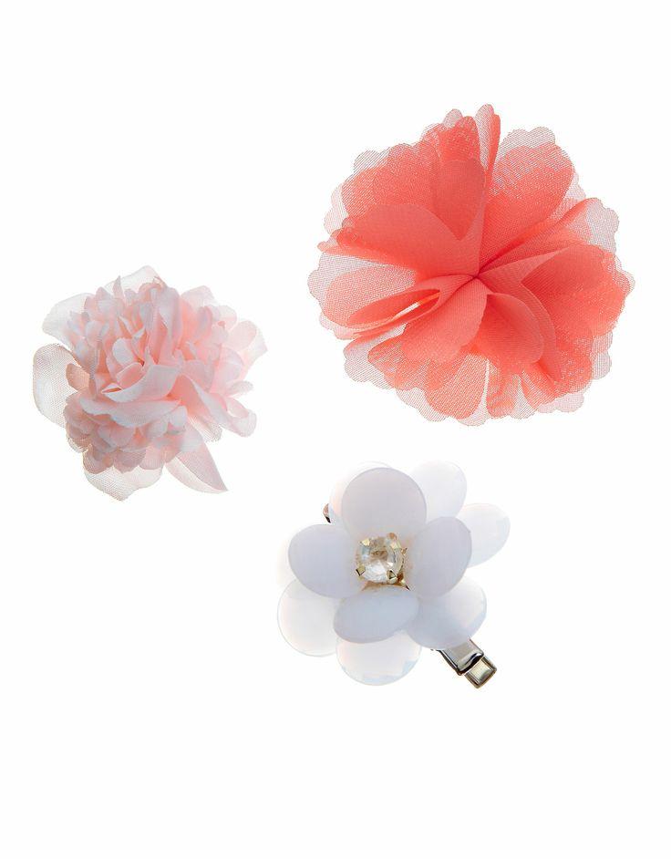 3 x Eclectic Flower Corsage Set