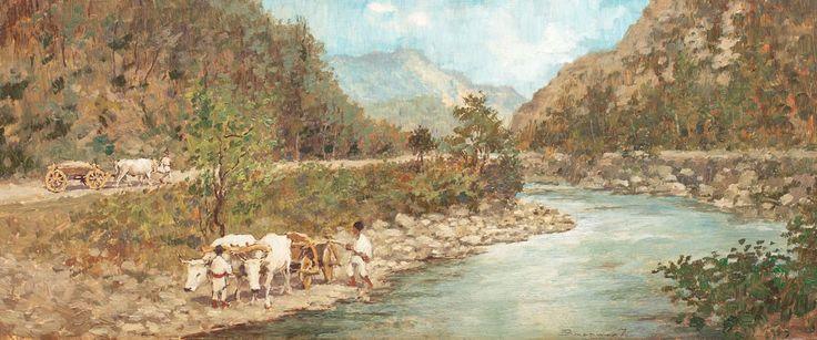 Ludovic Bassarab, Pe Valea Oltului