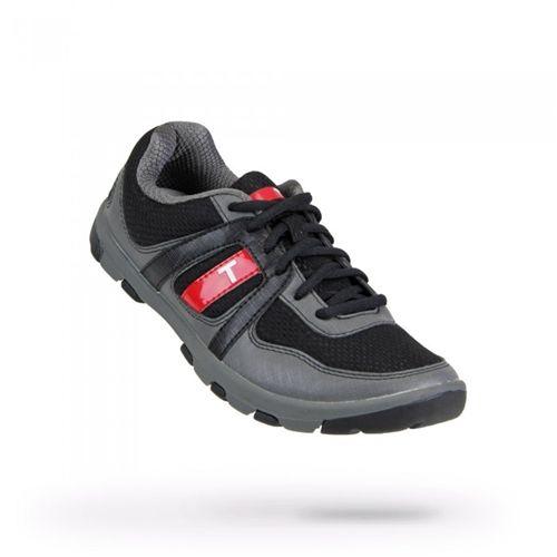 Kids Padwan Black/Charcoal Golf Shoes by True Linkwear.  Buy it @ ReadyGolf.com