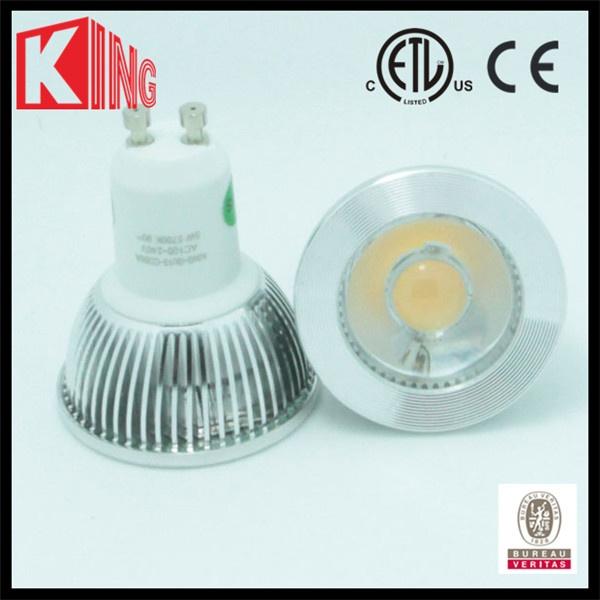 gu10  3W 5W led spotlight 38 degree