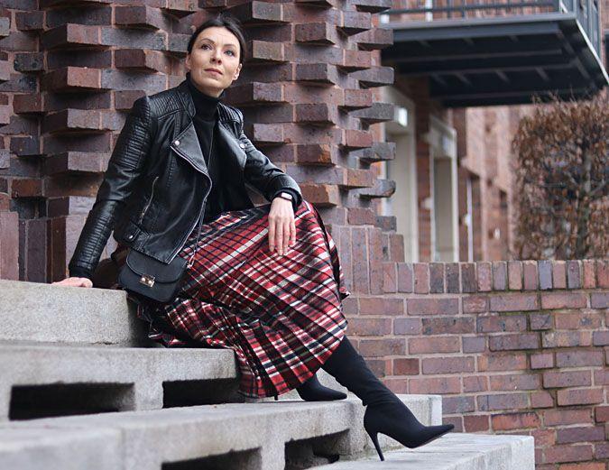 Jakie Buty Do Plisowanej Spodnicy Fall Fashion Outfits Winter Skirt Outfit Skirts