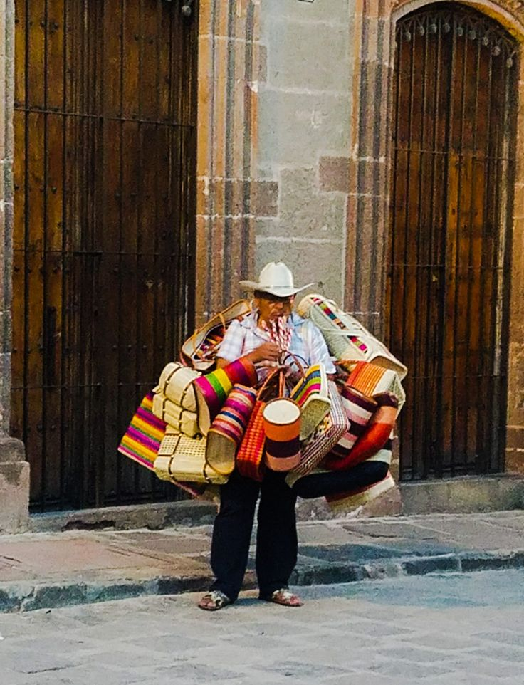 The beautiful people and vibrant colors of San Miguel de Allende.