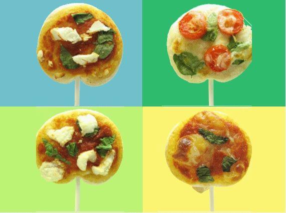 Chupetines de pizza y calzone! | Ronnie Arias