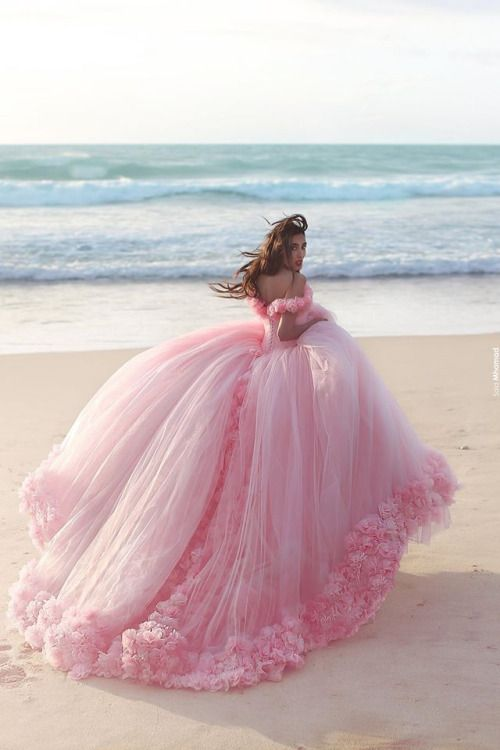 Amazing Pink Gown - i feel like i may have pinned this before, but this is just too much dress to not pin  This is so beautiful