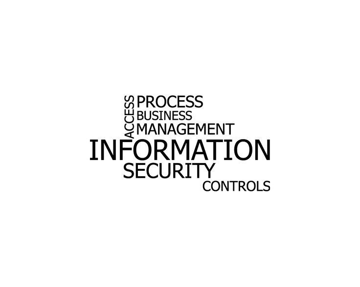 Information - Security, αυτοκόλλητο τοίχου