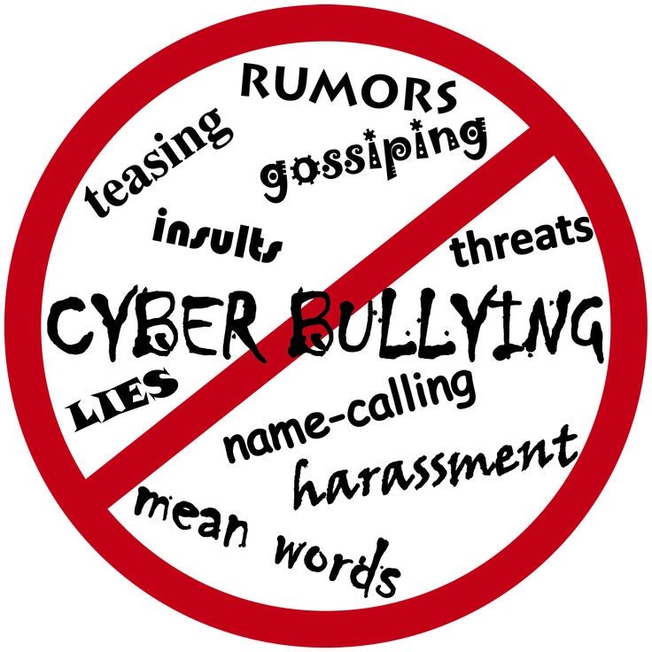 some signs of cyberbullying: emotional distress, withdraw from friends and regular activities, and changes in mood or behavior.