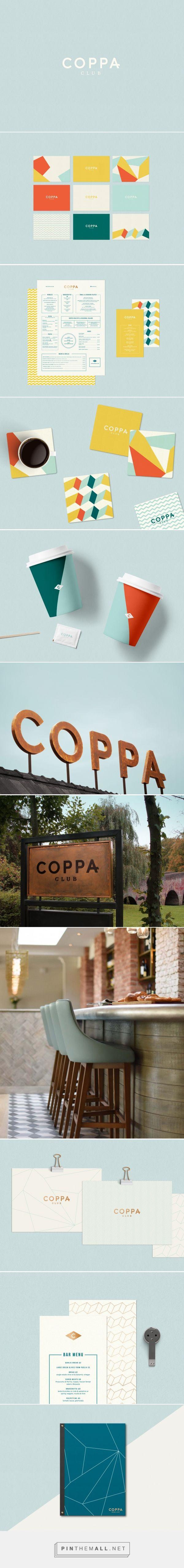Coppa Club Branding by The Plant  #branding #identity #identidadvisual #diseñografico #malaga #inspiracion#marbella