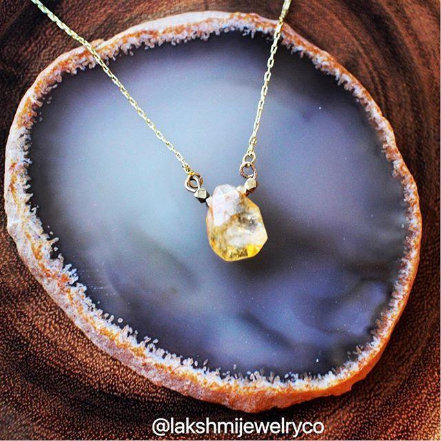 "Love me a little ""Citrine"" | the ""Kimberly"" design  #lakshmijewelryco #lakshmi #innergoddess #unleashyourinnergoddess #gemstonejewelry #gemstones #crystalnecklace  #vancouvergemstones #handmadejewelry #crystaltherapy #crystalhealing #vancouverjewelry #newagejewelry #goodvibes #entrepreneur #vancouverstartup #citrine #citrinecrystal #citrinenecklace"