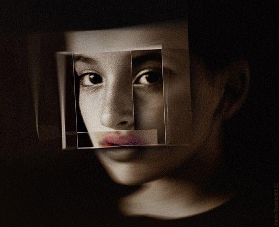 Tania Raymonde 2007 digital photomontage by frank Rheinboldt 2012