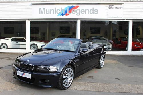 BMW E46 M3 Convertible For Sale