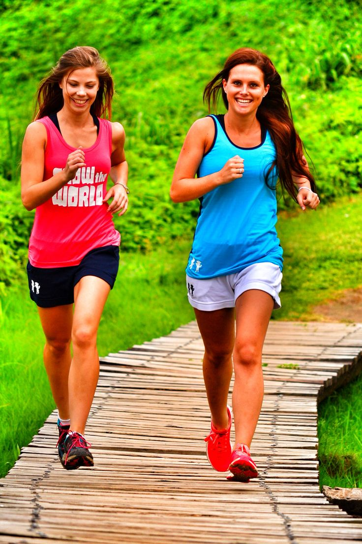 Totam ladies vests and shorts modeled by Kelly Woods & Chantal Hayes #totam #sport