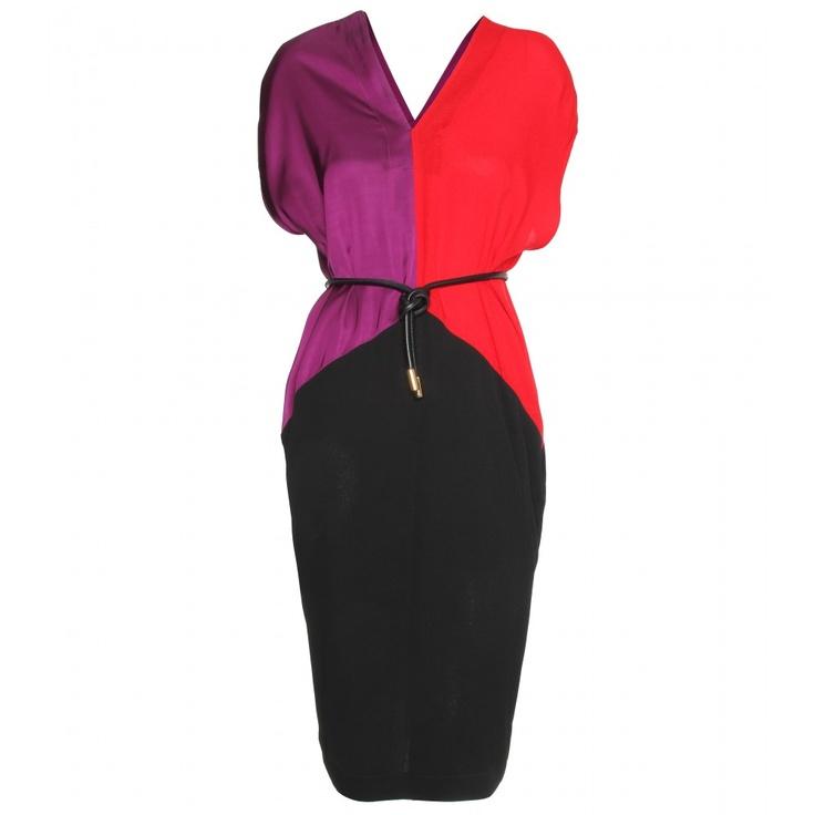 Kleid rot rріс˜ckenfrei kurz