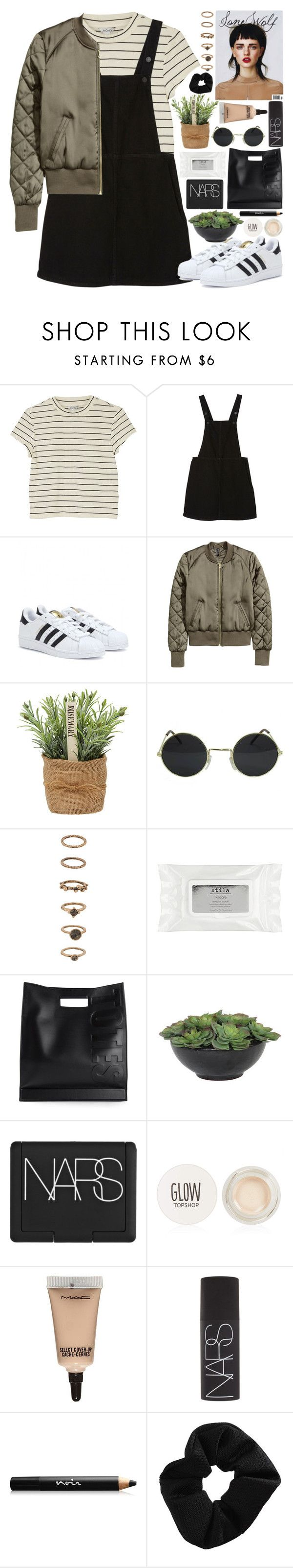 """"""".."""" by imthinkinginyou ❤ liked on Polyvore featuring Monki, adidas, Forever 21, Stila, 3.1 Phillip Lim, Lux-Art Silks, NARS Cosmetics, Topshop, MAC Cosmetics and Noir Cosmetics"""