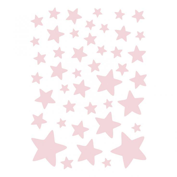Vintage Lilipinso Wandtattoo Set uSterne u rosa teilig bei Fantasyroom online kaufen