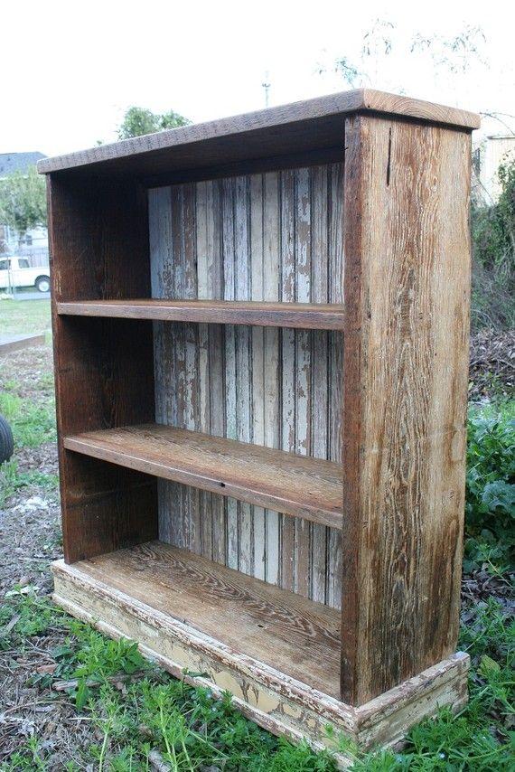 Best 25+ Rustic bookshelf ideas on Pinterest | Shelves ...