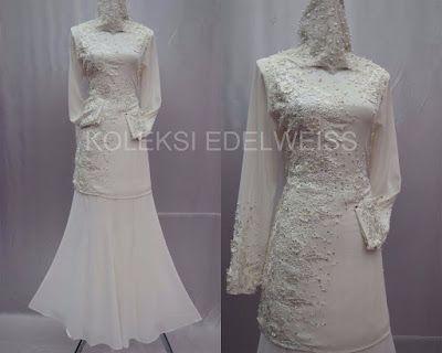 Celosia -Baju Kurung Moden NIkah Laca dan Manik