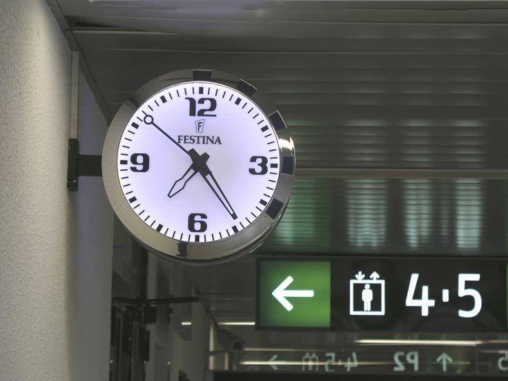 Reloj Festina Bodet Estaci N De Ciudad Real Espa A Horloges Industrielles Wall Clock