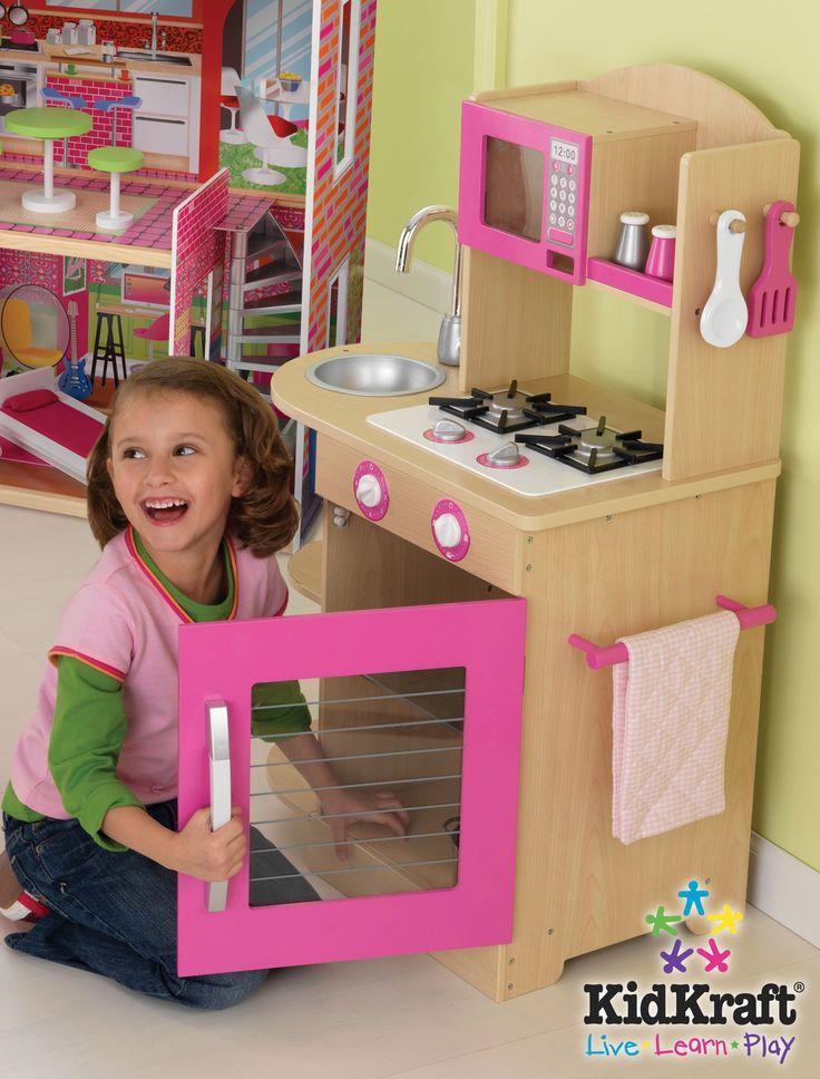 54 best Kids Kitchens images on Pinterest | Kid kitchen, Play ...
