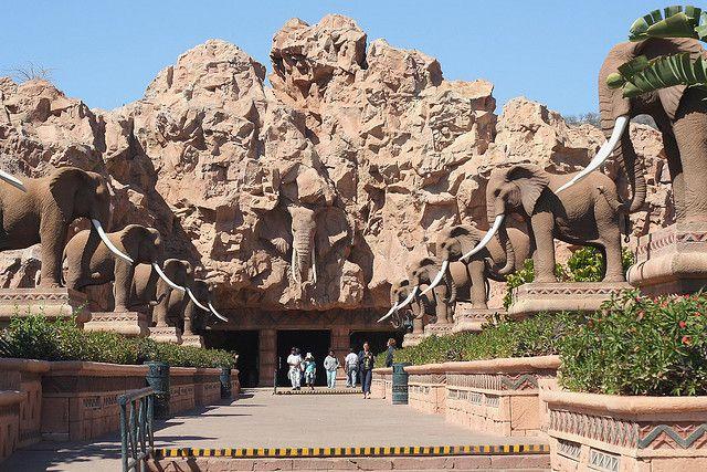 Avenue of the Elephants, Sun City, South Africa (by crafty1tutu).