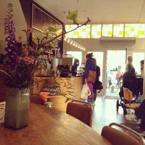 Koffiebar Mogador aan de Botermarkt #koffie #haarlem