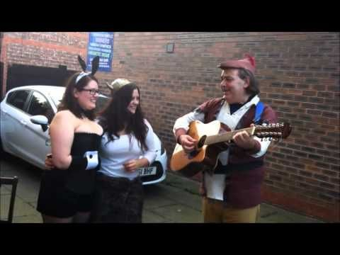 Vicky and Vix - Real Singing Telegram Manchester